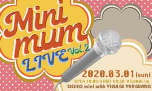 BLACK IRIS Minimum LIVE vol.2