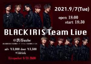 BLACK IRIS Team Live